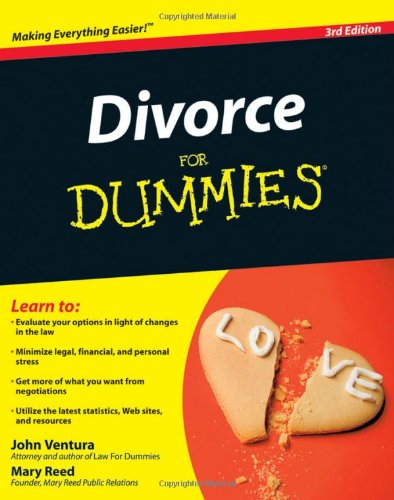 Divorce for Dummies  3rd 2009 edition cover