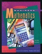 Applied Business Mathematics  14th 1997 9780538652513 Front Cover