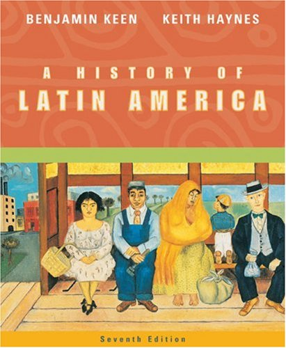 History of Latin America  7th 2004 edition cover