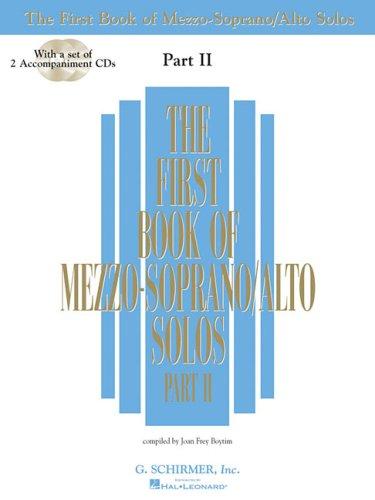 First Book of Mezzo-Soprano/Alto Solos  N/A edition cover