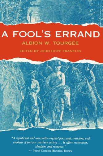 Fool's Errand   1961 edition cover