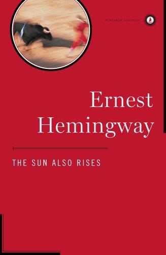 Sun Also Rises   1996 edition cover