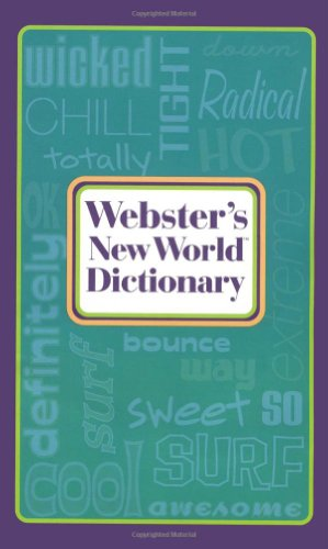 Webster's New World Dictionary   2003 9780743467513 Front Cover