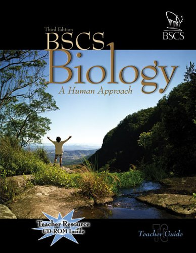 BSCS Biology A Human Approach 3rd 2007 9780757512513 Front Cover