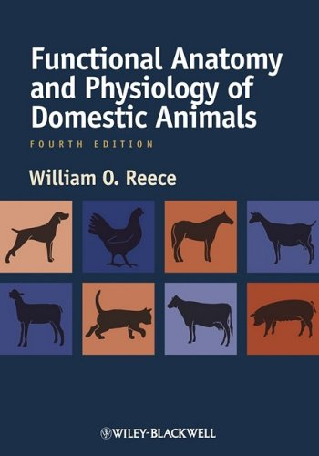 Functional Anatomy and Physiology of Domestic Animals  4th 2009 edition cover