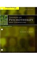Cengage Advantage Books: Theories of Psychotherapy and Counseling Concepts and Cases 5th 2012 edition cover