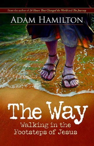 Way Walking in the Footsteps of Jesus  2012 edition cover