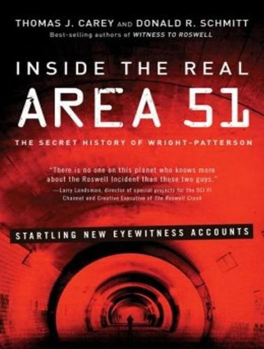Inside the Real Area 51: The Secret History of Wright Patterson  2013 edition cover