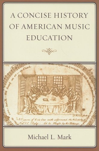 Concise History of American Music Education   2008 edition cover
