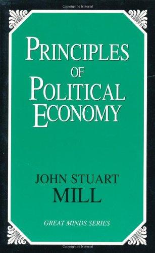 Principles of Political Economy  Unabridged edition cover