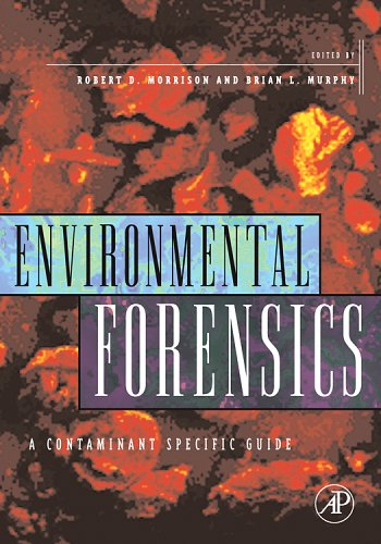 Environmental Forensics Contaminant Specific Guide  2006 edition cover