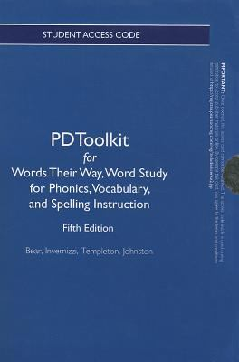 Words Their Way Word Study for Phonics, Vocabulary, and Spelling Instruction 5th 2012 (Revised) edition cover