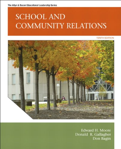 School and Community Relations  10th 2012 edition cover