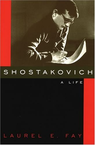 Shostakovich A Life  2005 edition cover