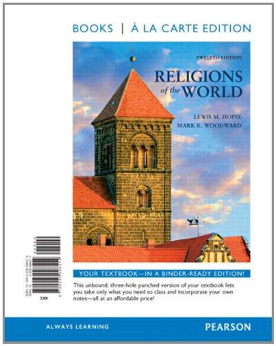 Religions of the World, Books a la Carte Edition  12th 2012 edition cover
