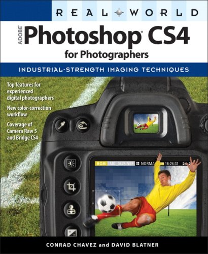 Real World Adobe Photoshop CS4 for Photographers   2009 edition cover