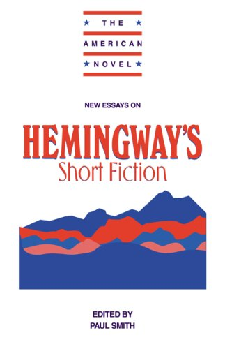 New Essays on Hemingway's Short Fiction   1998 9780521556514 Front Cover