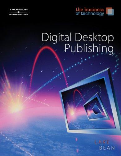 Digital Desktop Publishing   2008 9780538444514 Front Cover