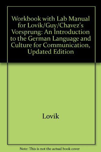 Vorsprung An Introduction to the German Language and Culture for Communication  2002 (Revised) 9780618142514 Front Cover