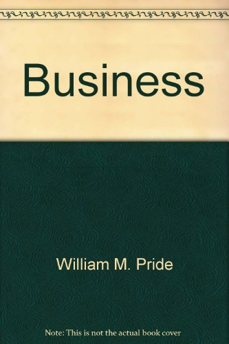 BUSINESS >CUSTOM< 7th 2002 9780618155514 Front Cover