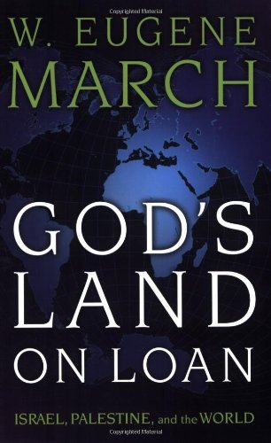 God's Land on Loan Israel, Palestine, and the World  2007 9780664231514 Front Cover