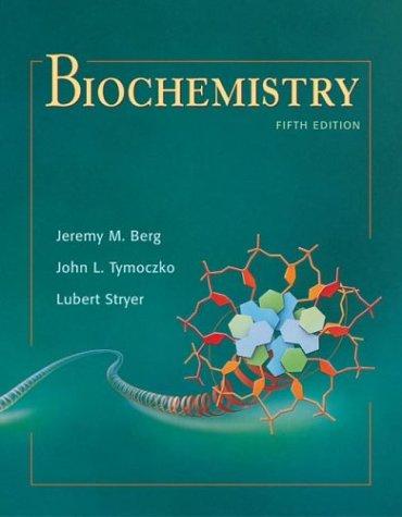 Biochemistry  5th 2001 edition cover