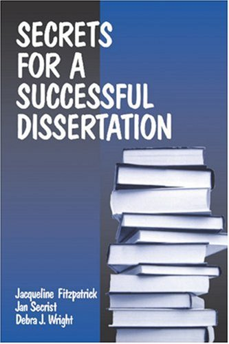 Secrets for a Successful Dissertation   1998 edition cover