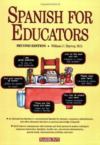 Spanish for Educators  2nd 2006 edition cover
