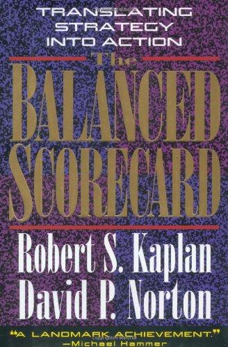 Balanced Scorecard Translating Strategy into Action  1996 edition cover