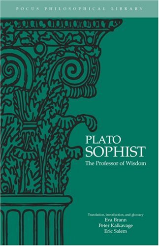 Sophist The Professor of Wisdom  1997 edition cover