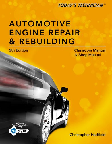 Automotive Engine Repair and Rebuilding  5th 2014 edition cover