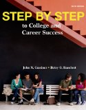 Step by Step to College and Career Success:   2014 edition cover