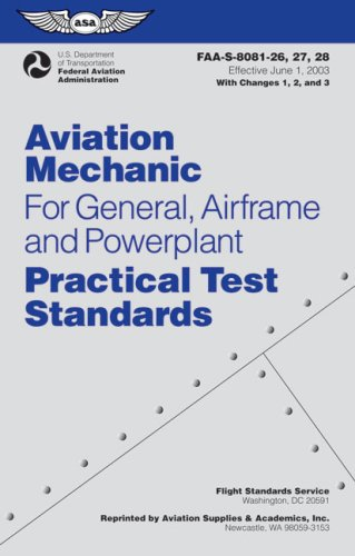 Aviation Mechanic for General, Airframe and Powerplant  N/A edition cover