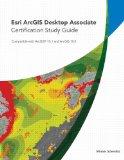 Esri ArcGIS Desktop Associate Certification Study Guide  2nd 2013 9781589483514 Front Cover