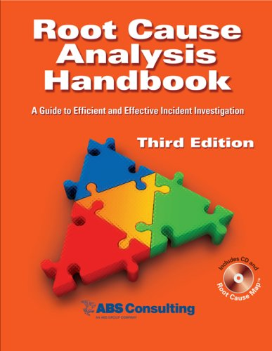 Root Cause Analysis Handbook A Guide to Efficient and Effective Incident Investigation (Third Edition) 3rd 2008 edition cover