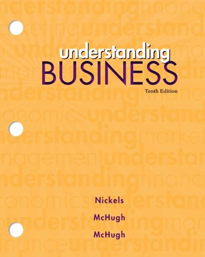 Loose-Leaf Edition Understanding Business  10th 2013 edition cover