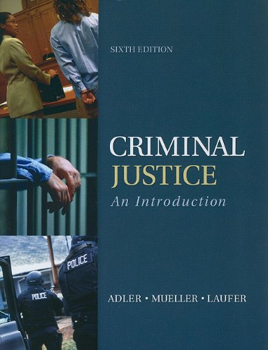 Criminal Justice An Introduction 6th 2012 9780078026515 Front Cover