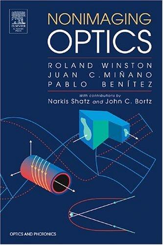 Nonimaging Optics   2003 edition cover