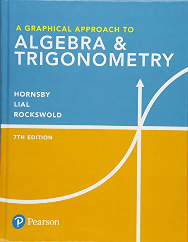 GRAPHICAL APPR.TO ALGEBRA+TRIGONOMETRY  N/A 9780134696515 Front Cover