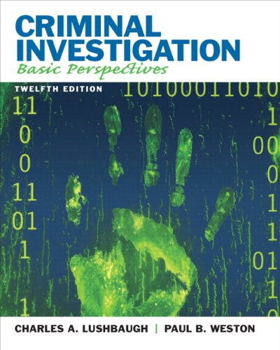 Criminal Investigation Basic Perspectives 12th 2012 (Revised) edition cover