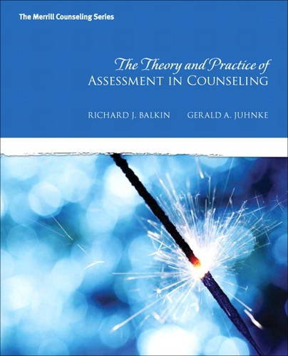 Theory and Practice Assessment in Counseling   2014 edition cover