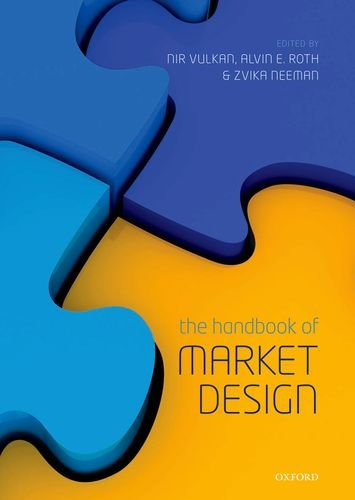 Handbook of Market Design   2013 edition cover