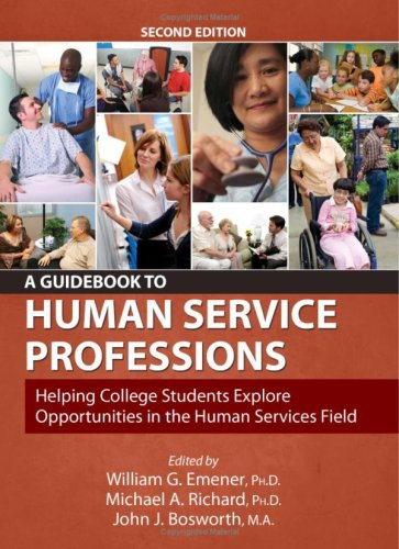 Guidebook to Human Service Professions : Helping College Students Explore Opportunities in the Human Services Field 2nd 2009 edition cover