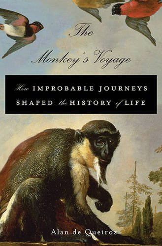 Monkey's Voyage How Improbable Journeys Shaped the History of Life  2013 edition cover