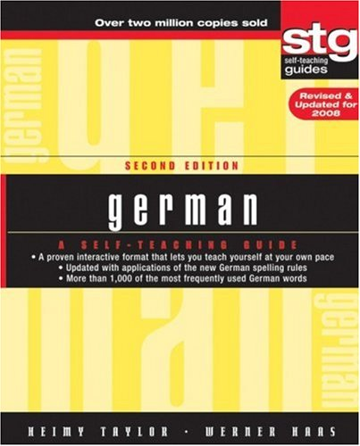 German A Self-Teaching Guide 2nd 2007 (Revised) edition cover