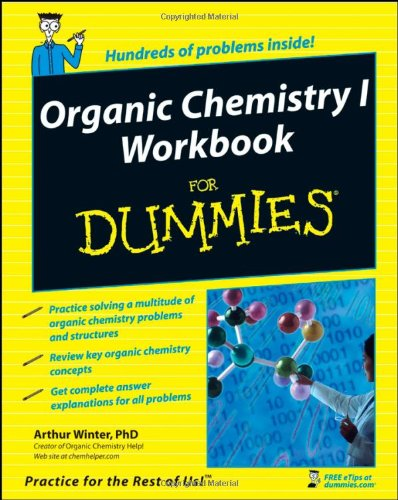 Organic Chemistry I Workbook for Dummies   2008 (Workbook) edition cover
