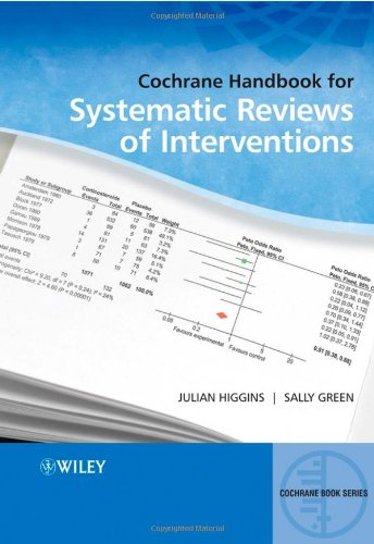 Handbook for Systematic Reviews of Interventions   2008 (Handbook (Instructor's)) edition cover