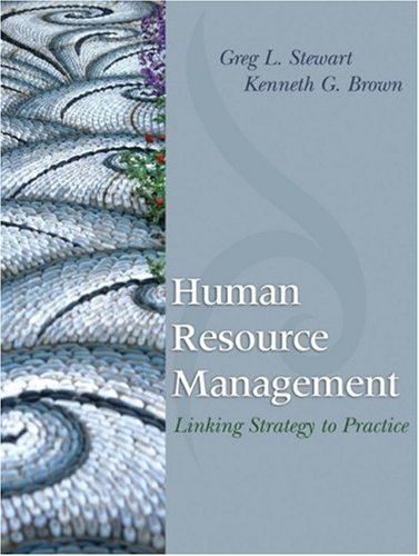 Human Resource Management Linking Strategy to Practice  2009 edition cover