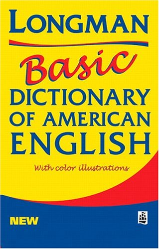 Longman Basic Dictionary of American English  2nd 1999 edition cover