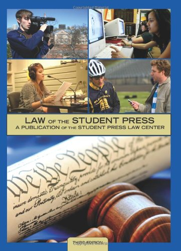 LAW OF STUDENT PRESS N/A edition cover